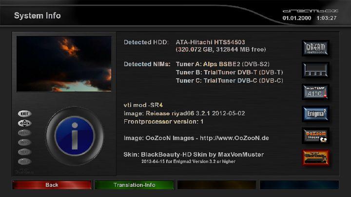 Firmware Enigma2 Sunray 4