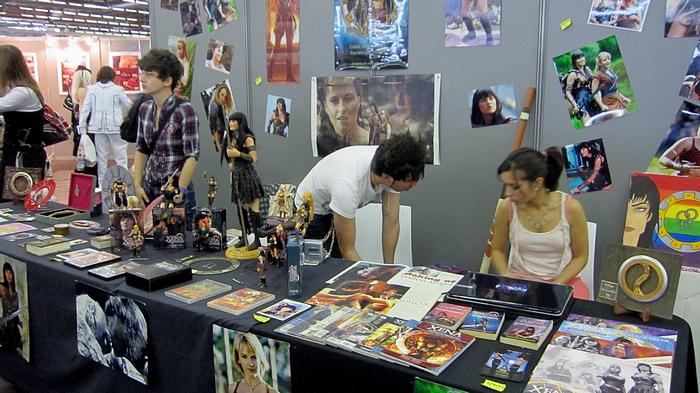 Comic Con' 2012 Stand-3639f0e